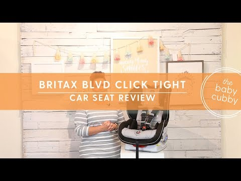 Britax Boulevard ClickTight Convertible Car Seat Review