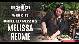 Bee Sting And Prosciutto Arugula Grilled Pizzas   Virtual Smokehouse Tour