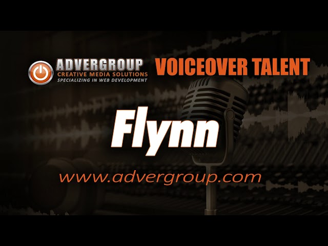 FLYNN Male VOICEOVER ..