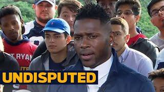 Antonio Brown responds to Shannon Sharpe's criticism  | UNDISPUTED