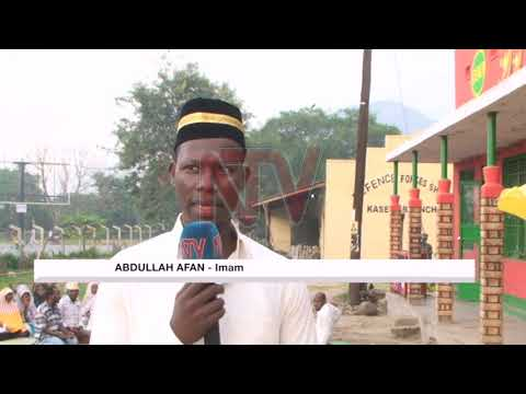 Kasese Muslims celebrate Eid Al-adha with prayers in the open
