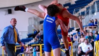 preview picture of video 'National Poland Youth Olympic Games Wrestling Freestyle Reg. Elimination Myslenice may 2013 Part 1'
