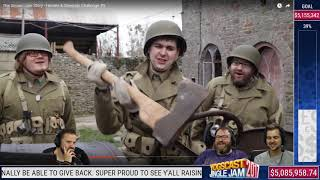 "Yogscast React To ""Heroes And Generals Challenge""   Jingle Jam 2017"