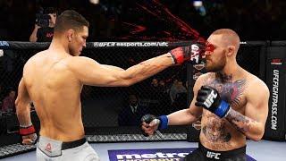 ИГРАТЬ НЕ ПО ПРАВИЛАМ в МИРОВОМ ТОП 10 UFC 3 RANKED НИК ДИАЗ