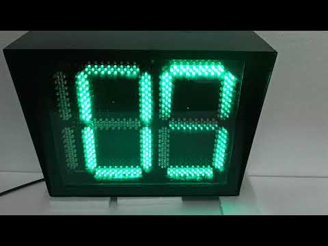 Traffic Signal Countdown Timer- Multi Color