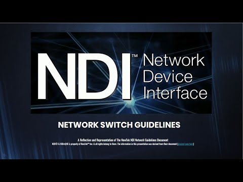 Choosing the Best Network Switch for NDIⓇ