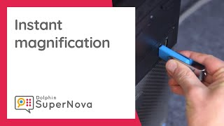 SuperNova USB - Instant Magnification on any PC (Audio described)