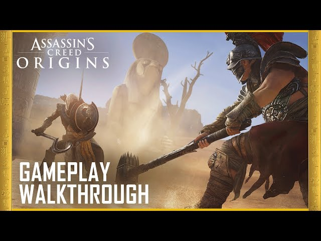 Assassin's Creed Origins - Best Action Game of E3 2017 - WINNER