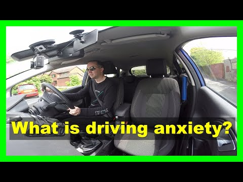 What is driving anxiety?