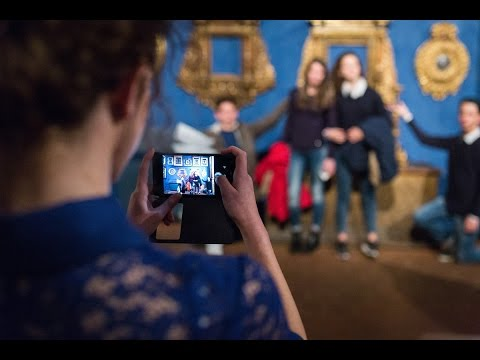 SelfieArtChallenge - Party in blu al Museo Bardini