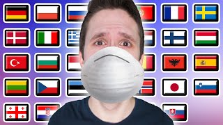 How To Say CORONAVIRUS! In 40 Languages Ft. Google Translate