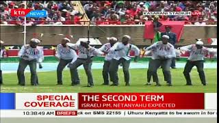 Ngenia High school perform at Kasarani stadium