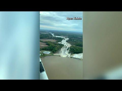 WATCH: Edenville Dam breach viewer video
