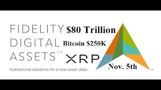 Bitcoin $250K, $80 Trillion ,Fidelity Predicts Surge, Nov 5th, Ripple XRP