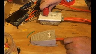 Power Cord with Pedal Switch (DIY) for any Electric Tool