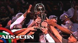 Golden State Warriors, bagong kampeon ng NBA