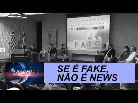 Seminário promovido pelo Diário aborda fake news