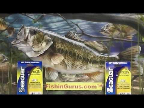 Seaguar Invizx Fluorocarbon Fishing Line Review by FishinGurus Chicago Bait Tackle Store
