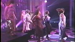 Motown Live Dancers - All the places (I will kiss you) - Aaron Hall
