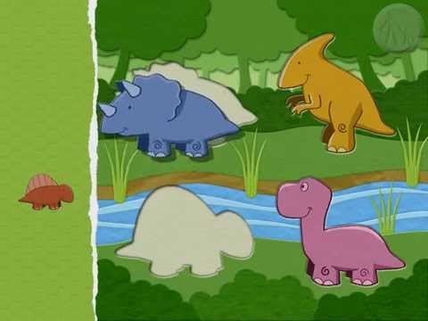 Video of Paper Dinosaurs Puzzle