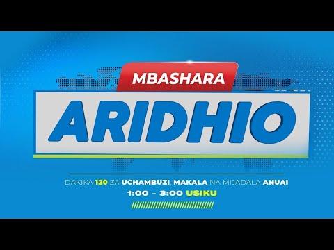 #TBCLIVE: ARIDHIO JUNI 01, 2021 | SAA 1:00 - 3:00 USIKU