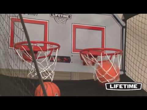 Lifetime Basketballanlage Double by mygardenhome.de
