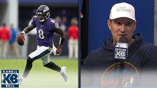 Danny Kanell: Lamar Jackson is Michael Vick 2.0 | Kanell & Bell