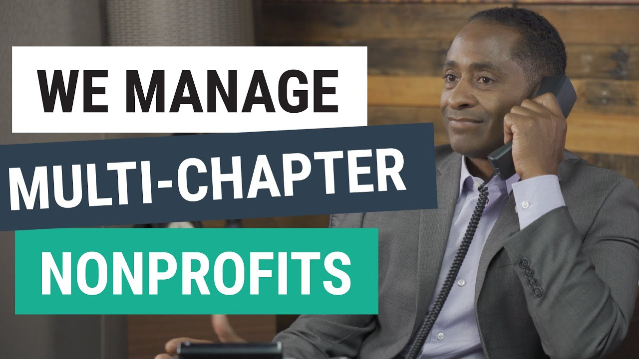 We Make it Easy to Manage Multi-Chapter Nonprofits
