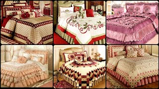 Letest Collection Of Royale And Luxury Bedding Sets In Different Layer Style Bed Sheet Design