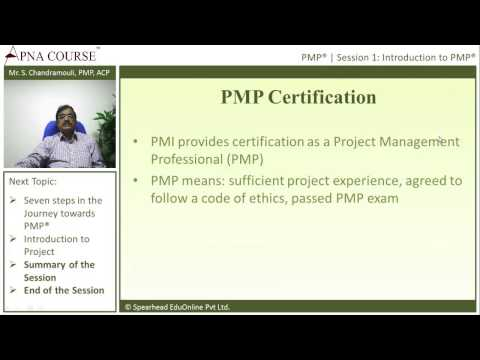 Project Management Professional | All about PMP Certification ...