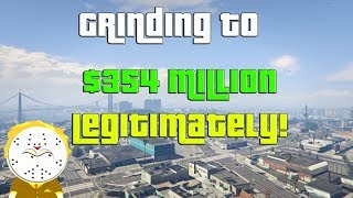 GTA Grinding To $354 Million Legitimately And Helping Subs | Kholo.pk