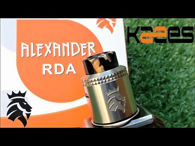 Kaees Alexander RDA | Build & Wick| Review