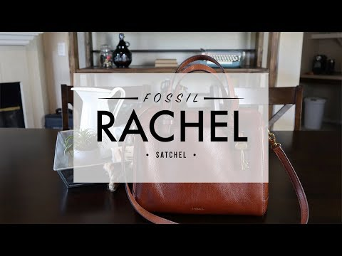 Fossil Rachel Satchel – What's in my Bag? (Sydney Satchel)