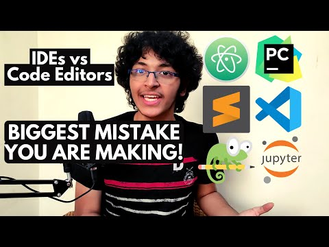 Code Editors vs IDEs : Why you NEED to STOP using IDEs