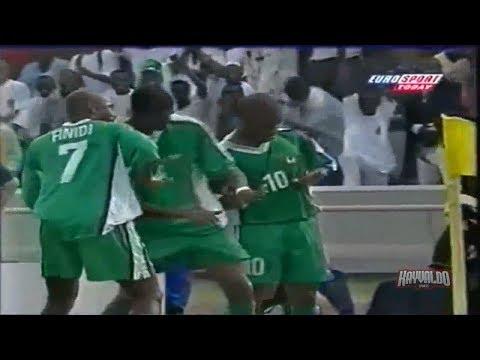 Jay Jay Okocha vs Tunisia (AFCON 2000)