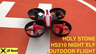 Holy Stone HS210 Night Elf Drone Outdoor Flight Test Video