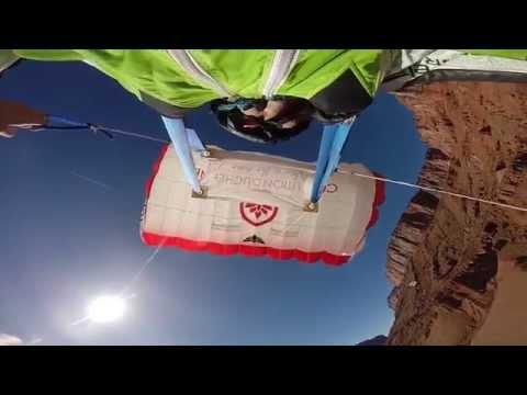 hqdefault - Volando casi a ras del suelo con un wingsuit en el desierto de Moab