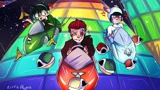 IM SO HAPPY AND LOVE MY FRIENDS! - Mario Kart 8 Deluxe