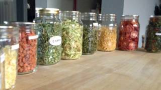 Dehydrating Vegetables For Soups