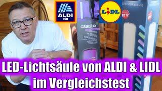 LED-Lichtsäule von ALDI & LIDL im Vergleichstest | Willi-0815