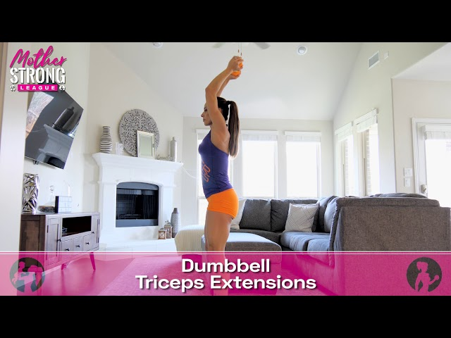 Dumbbell Triceps Extensions