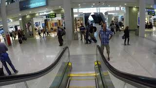Toronto Pearson International Airport - YYZ - Terminal 1 - Video Tour - Arrival,Gates,Duty Free