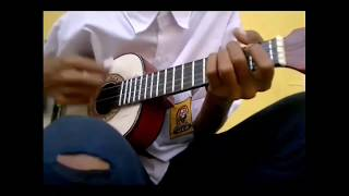 Batur Seklambu Lagu Tarling Duet Ochol & Dian Anic Cover Ukulele