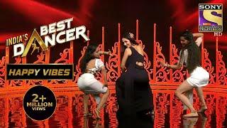 Mallaika की Twerking से Stage पे हुआ Blaze   India's Best Dancer   Happy Vibes