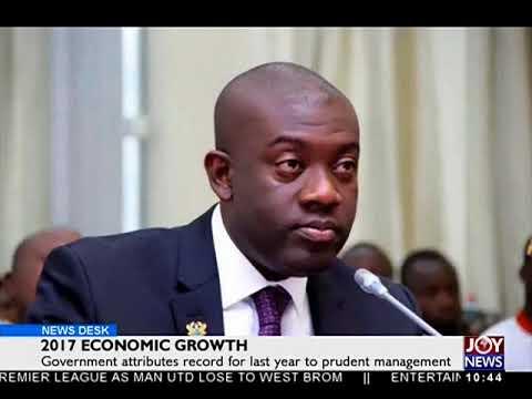 2017 Economic Growth - Business Desk on JoyNews (16-4-18)