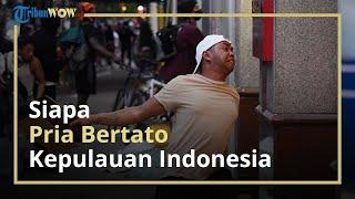Viral Foto Pria Bertato Peta Indonesia Turut Demo George Floyd: Saya Sakit Hati, dan Minta Maaf