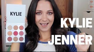KYLIE JENNER THE BURGUNDY PALETTE  FIRST LOOK