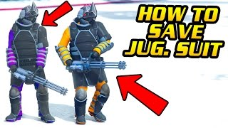 "GTA Online: HOW TO SAVE NEW ""JUGGERNAUT SUIT"" IN FREEMODE (PS4, Xbox One & PC)"