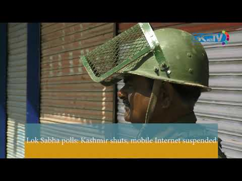 Lok Sabha polls: Kashmir shuts, mobile Internet suspended