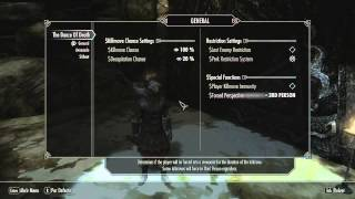 Como instalar The Dance of Death en Skyrim